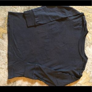 JCrew Dark Gray long sleeve tee